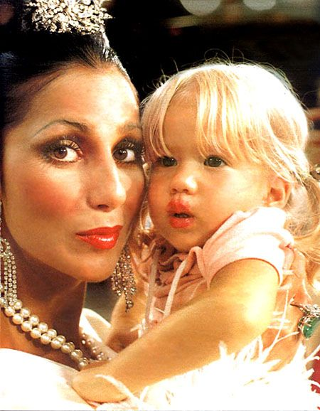 Cher & daughter Chastity.