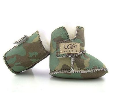 Love the camo-baby ugg boots.