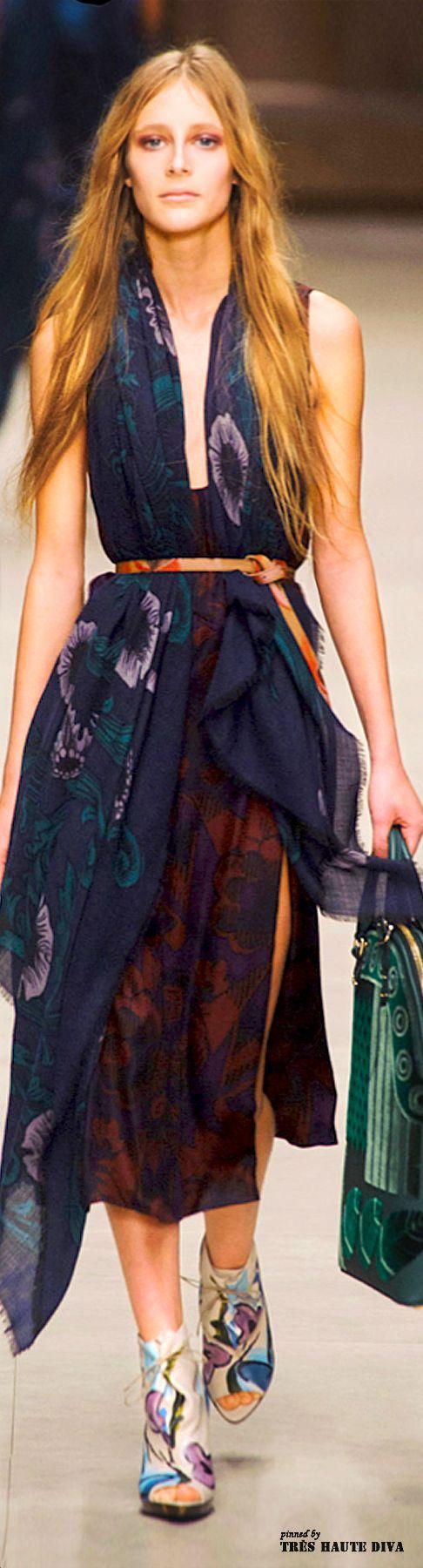 London Fashion Week Burberry Prorsum Fall 2014   The House of Beccaria