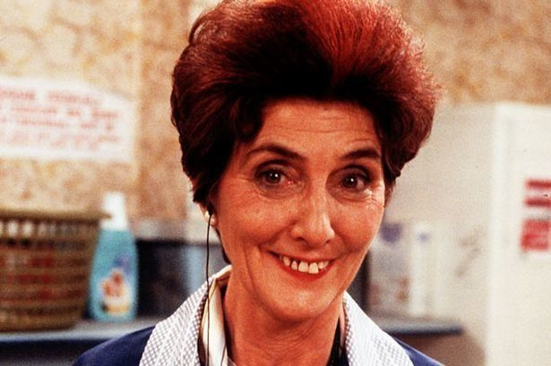 (CREDIT: BBC)  TV's Longest Serving Soap Stars:  June Brown Played: Dot Cotton (1985 - 1993, 1997 - 2012, 2013 - Present)  Words cannot even express how grateful we are to have Dot in the Square.