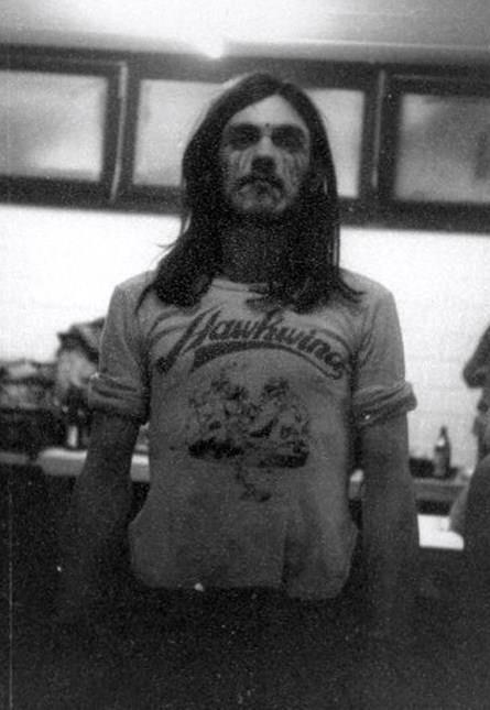 Lemmy in Hawkwind