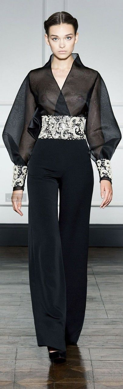 Интересные наряды из коллекций «Ready to wear» от известных дизайнеров