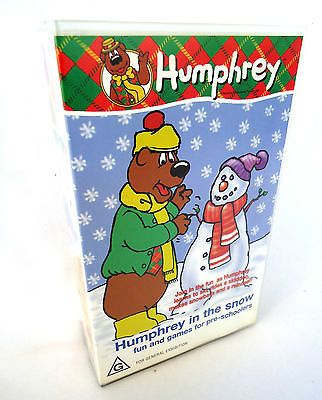HUMPHREY B. BEAR-2 x Video Set-Humphrey In The Snow-Humphrey's Zoo Adventure