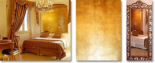 gold painted bedrooms - Google Search | Golden bedrooms ...