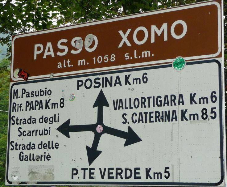 Passo Xomo (1058 m) - Alpi Occidentali