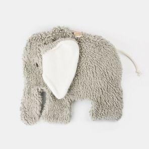 Kirschkern-Kissen Elefant