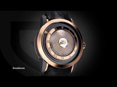 Christophe Claret - 360° Aventicum - YouTube    #Complications #Watch #HauteHorlogerie