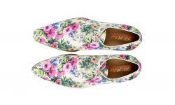 kleurrijke schoenen met bloemenprint pink flowers mascolori