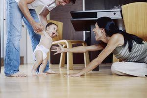 Toddler's First Steps - Zia Soleil/The Image Bank/Getty Images