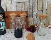 Paul Masson Wine Carafe Set, Carafe Spice Rack, Spice Jars, Vintage Barware, Gift Giving