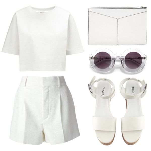 """Look 13 - Boxy"" by splashthestyle on Polyvore polyvore, fashion set, fashion, ootd, collage, minimal, outfit"