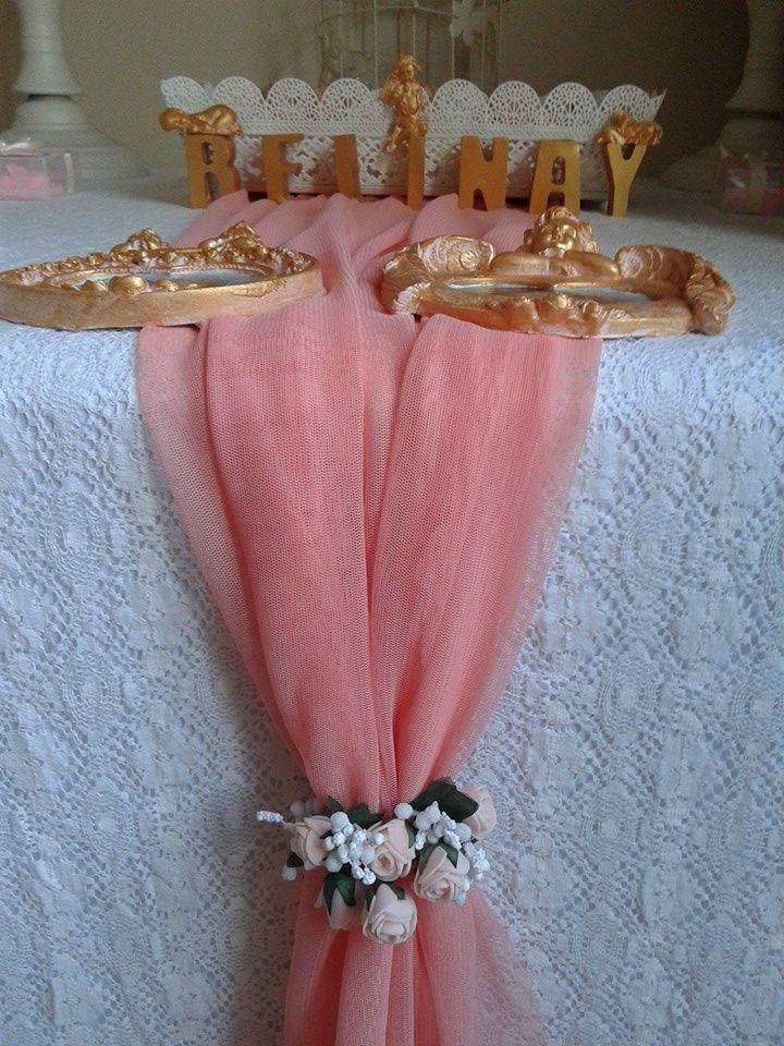 FOTOĞRAFLAR - www.hanieldavetveorganizasyon.com Angel baby shower ideas,table decorations ideas.Hoş geldin bebeğim organizasyonu-masa süsleme