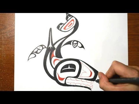 How to Draw Haida Art: 9 Steps (with Pictures) - wikiHow