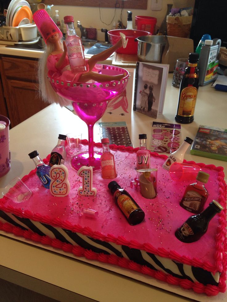 This cake is amazing. Going to make it for my sisters on their 21st birthday.