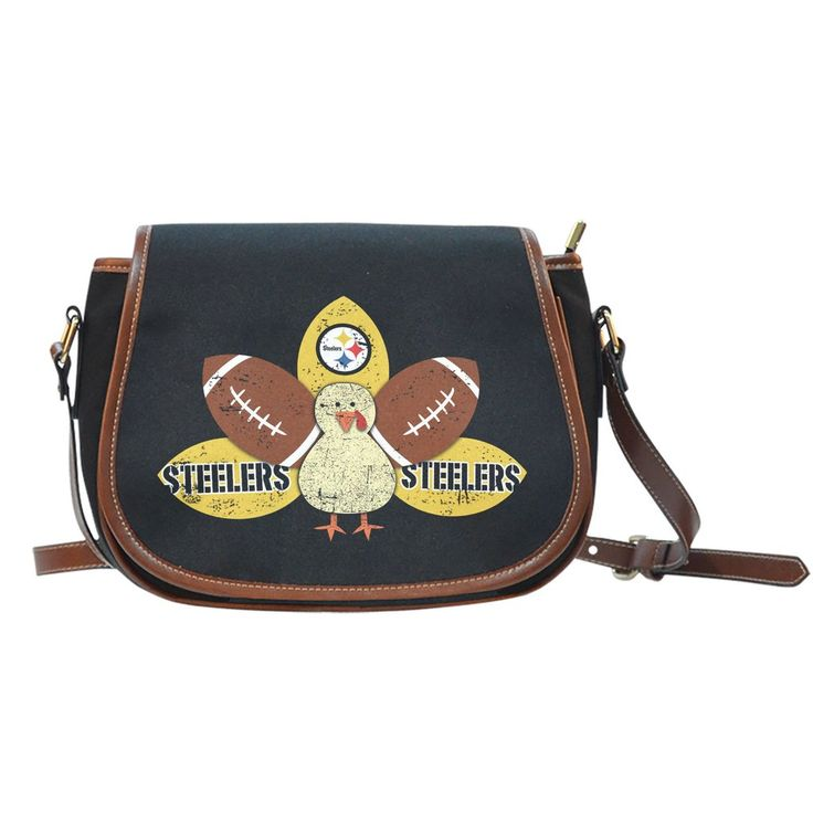 Thanksgiving Pittsburgh Steelers Saddle Bags – Best Funny Store