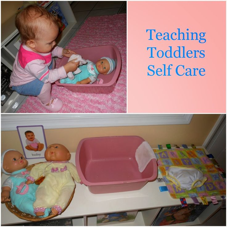 """Self care is all about actions taken to maintain personal health and human development. Why not start teaching the basics now when they are toddlers. Maria Montessori made it well known that what she called """"Practical Life Skills"""", were very important for children to master. Practical life skills can mean so many different things, here …"""