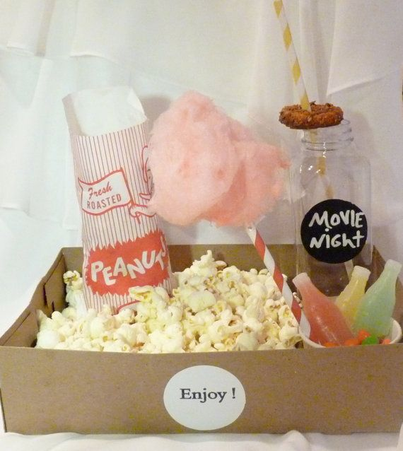 12 OLD ScHooL FOOD TraY/ with DriNk HolderS /SNACK/ MoVie/ POPcorN/ CoTTon CanDy/ SodA/HotDog/ Onion Rings /SleePoveR / Party Perfect on Etsy, $13.50