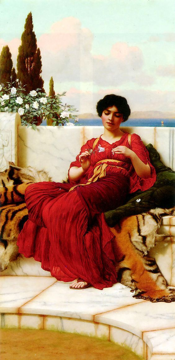 The Athenaeum - Mischief (John William Godward - )
