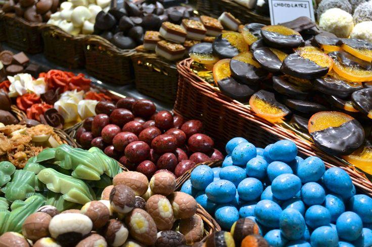 Easter treats in Spanish market. Photo credit: Marcy Clark