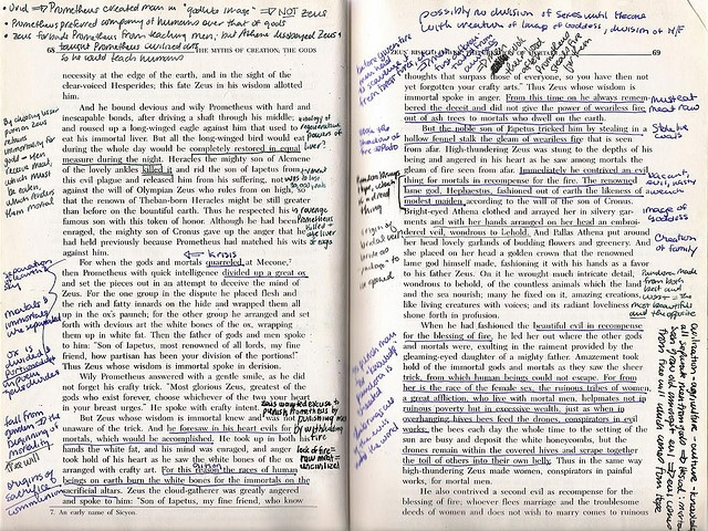 I love marginalia. Honestly. I think a book is meant for this. Not to be kept in pristine condition.