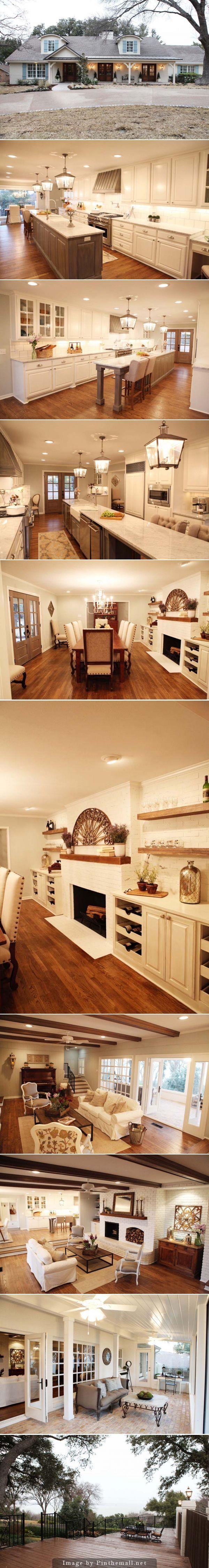 U kunt dit huis kennen uit het leuk programma; verbouw mijn huis tot droomhuis! Mooie make over gehad deze fixer upper!