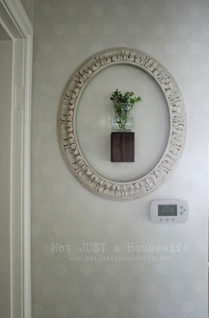 frame around plant