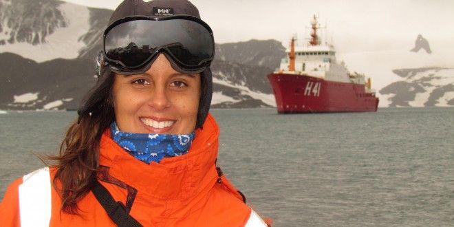Oceanógrafa de Campinas estuda mudanças climáticas em viagens à Antártica | Agência Social de Notícias