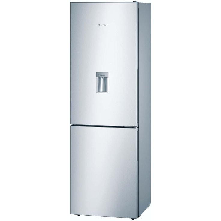 Bosch 312l bottom freezer fridge water dispneser inox