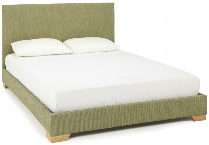 The Emily fabric bed frame in fresh mint green would make a fabulous addition to any bedroom.