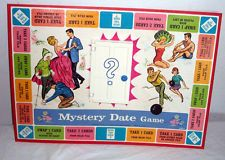 images about Vintage Games on Pinterest   Ouija  Dating     MILTON BRADLEY      MYSTERY DATE GAME BOARD  BOARD  DOOR AND CARDS ONLY