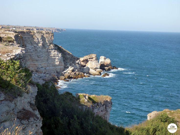 Beautiful Cliffs & Sea Shore in Bulgaria, at Tyulenovo & Kamen Bryag | Seaside Travel Adventures