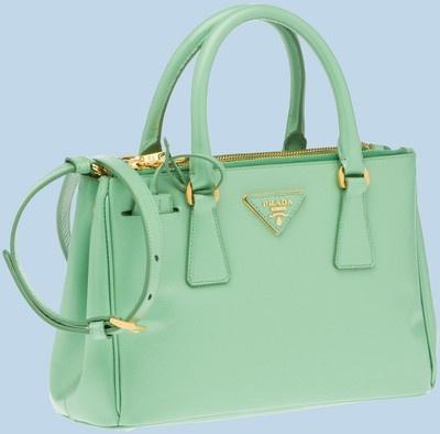 prad bags - discount Mint Prada Bag. for ladies | Bags | Pinterest | Prada ...