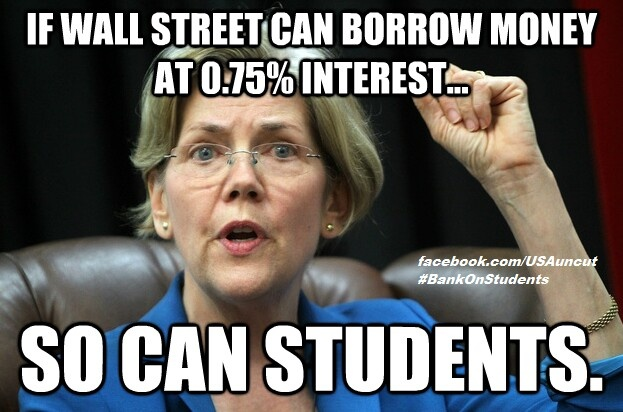 Banks and investment corporations only pay .75% interest?!