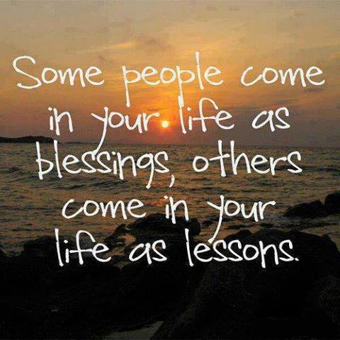 Some People Come In Your Life As Blessings.