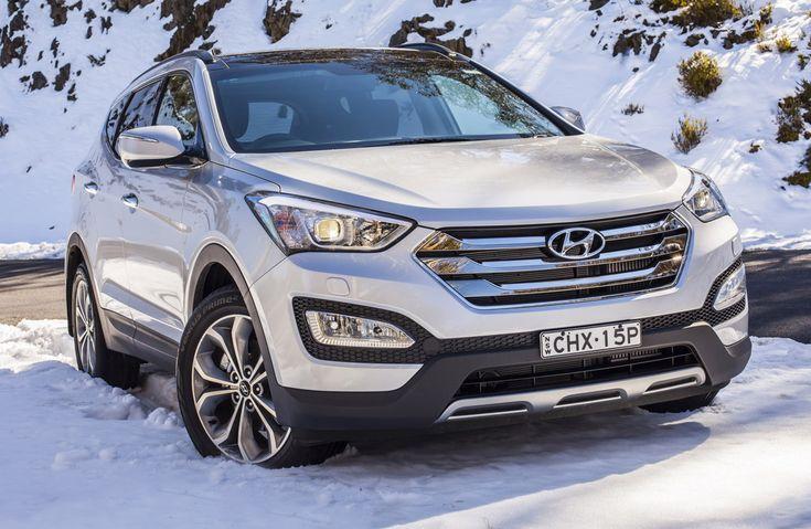 Hyundai Santa Fe Sport! That's the car my mom has. I Love It!