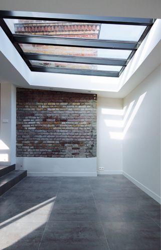 toit ouvrant maison maison toit ouvrant piscine photo verrire de toiture fixe en double. Black Bedroom Furniture Sets. Home Design Ideas