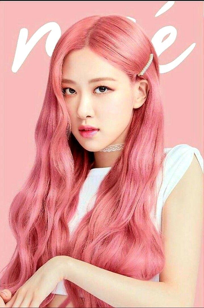 Blackpink Rose Wallpaper Pink Hair 241020 0636 Rose Blackpink K Pop Stock Rose Pink Hair Hair Color Rose Gold Pink Hair