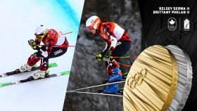 Kelsey Serwa and Brittany Phelanfinish 1-2, to give Team Canada its second straight double podium in women's ski cross at...