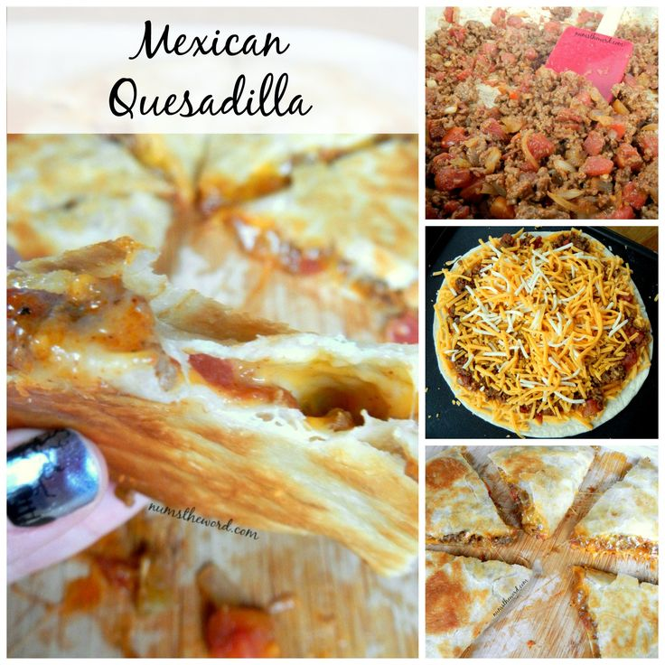 A tasty twist on the classic quesadilla, this Mexican Quesadilla is hearty enough for a meal and great for on the go with kids! Quick 30 minutes or less!