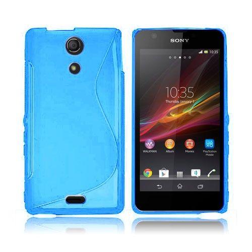 S-Line (Blå) Sony Xperia ZR Deksel