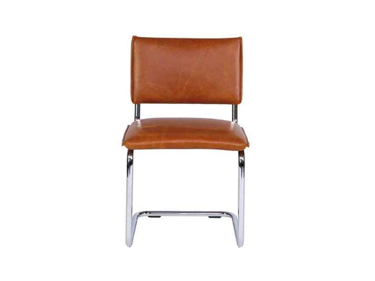 Krzesło skórzane Levi