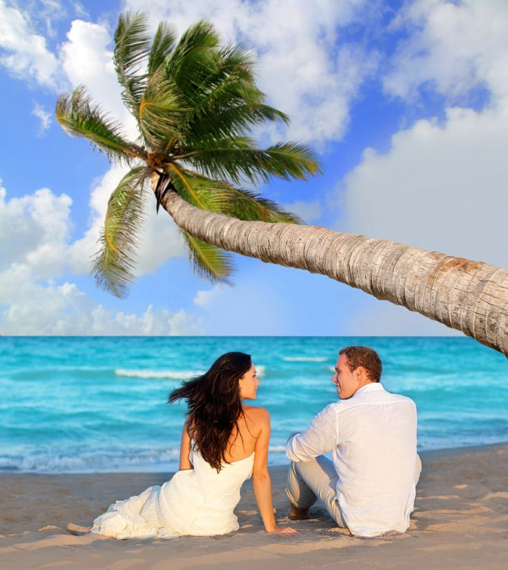 A beautiful beach wedding www.caribbeandreamstravel.com 1-855-NOW-GETAWAY