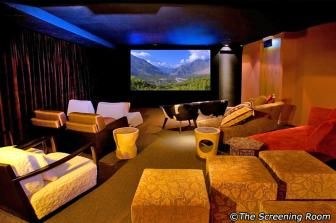 "The Screening Room film theatre. The ""dinner and a movie take on a new meaning, where the house chefs pair the menu with the film"" sounds great! Maybe we can watch an old-but-legendary-and-timeless-and-worth-to-re-watch movie here? ;) #SGTravelBuddy"