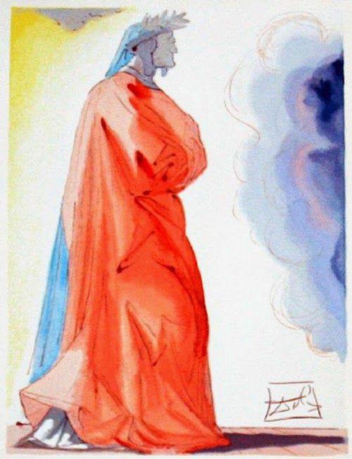 Salvador Dalì, Dante Divina Commedia #Dalì #Dante