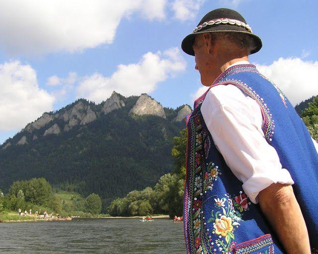 FolkCostume&Embroidery: Costumes of the Pieniny-Dunajec region, Lemkovyna, Poland, Slovakia
