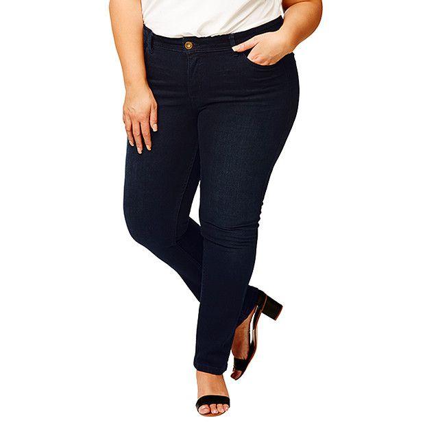 Belle Curve Straight Leg Jeans - Indigo | Target Australia