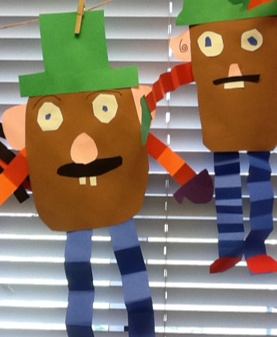 Tickled to Teach: Potato Head Glyphs