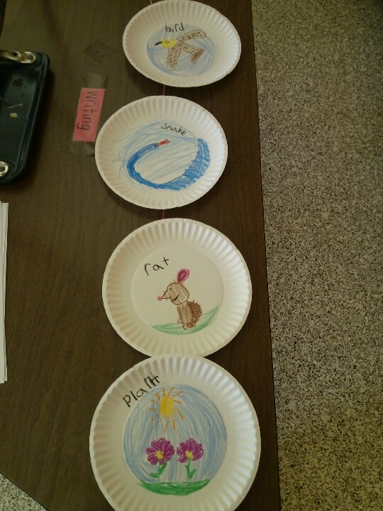 Food chain craft.use paper plates and attach with string so it hangs!