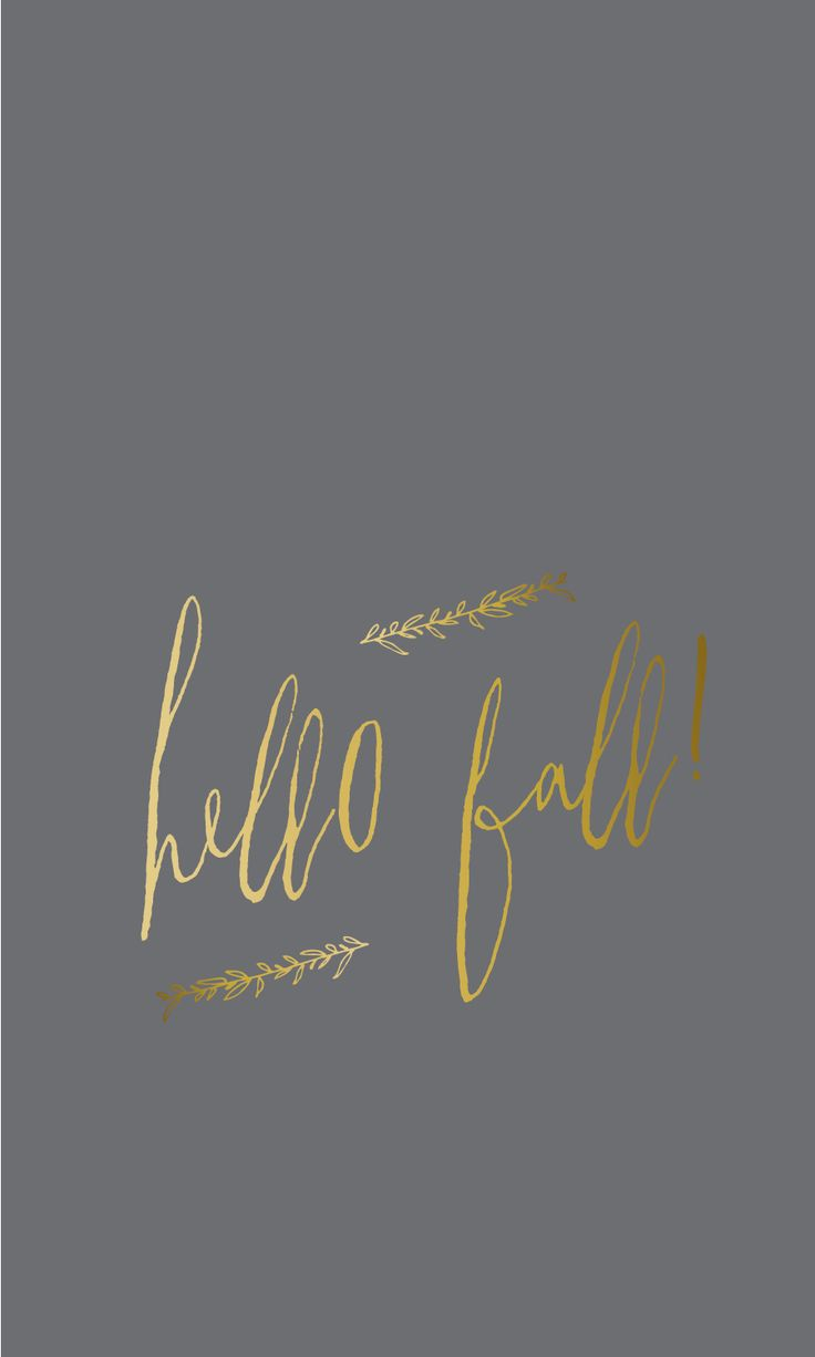 Hello Fall ★ Find more autumn & other seasonal wallpapers for your #iPhone + #Android @prettywallpaper:
