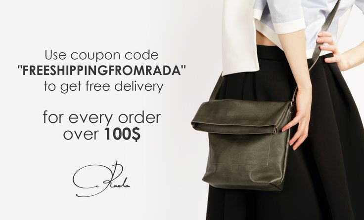 Use FREEDELIVERYFROMRADA coupon for free delivery for any order over 100$ #free #coupon #discount